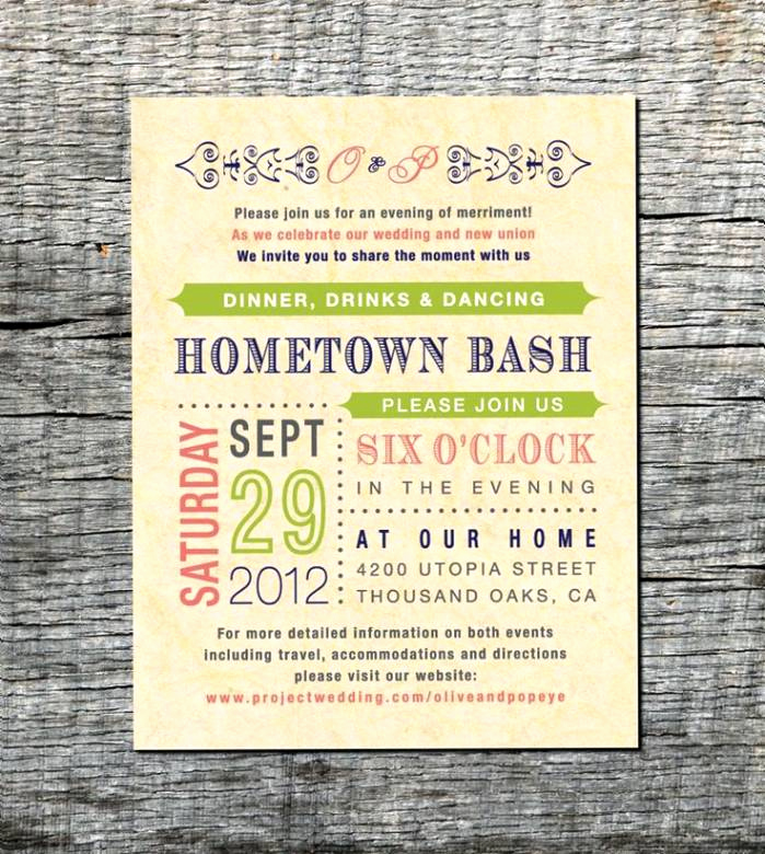 Non Traditional Wedding Invitation Wording Elegant Invitations for Reception after Destination Wedding