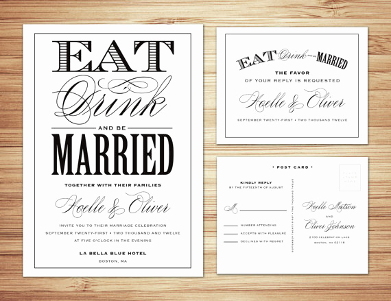 Non Traditional Wedding Invitation Wording Elegant Wedding Planner