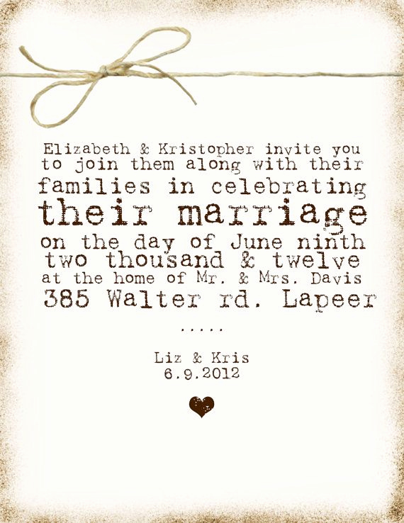 Non Traditional Wedding Invitation Wording Unique Non Traditional Wedding Invites Love