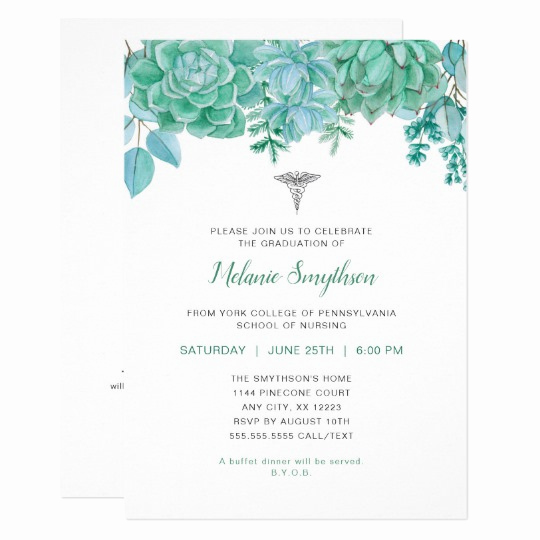 Nurse Graduation Invitation Template Unique Nurse Graduation or Rn Pinning Ceremony Invitation