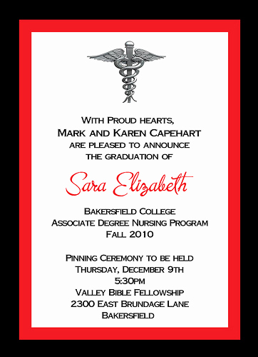 Nursing Graduation Invitation Templates Free Best Of 28 Of Nursing Graduation Invitations Template