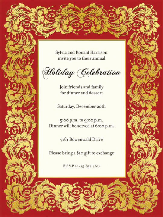 Office Christmas Party Invitation Wording Awesome the Gallery for Fice Christmas Party Invitation