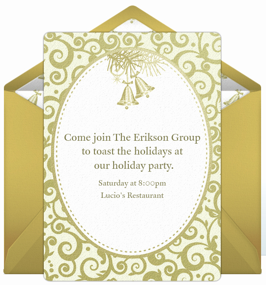Office Christmas Party Invitation Wording Inspirational Pany Holiday Party Invitations