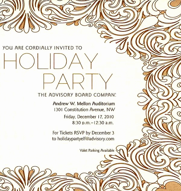 Office Christmas Party Invitation Wording New Christmas Invitation Template and Wording Ideas
