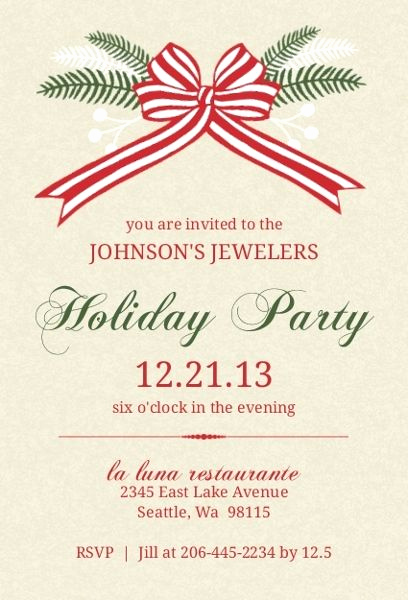 Office Holiday Party Invitation Wording Inspirational 18 Best Fice Christmas Party Invitation Wording & Ideas