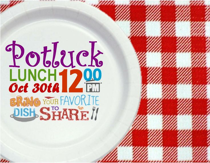 Office Potluck Invitation Wording Awesome Potluck Lunch Invitation Printables