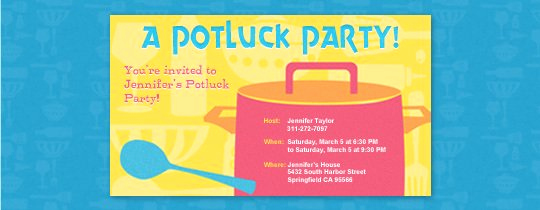 Office Potluck Invitation Wording Awesome Potluck Party Ideas Evite