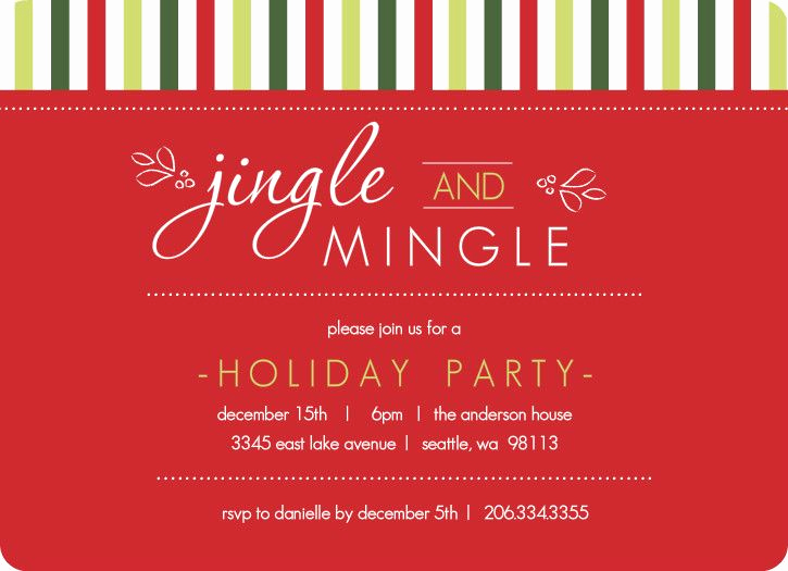 Office Potluck Invitation Wording Samples Awesome Christmas Invite Wording Holiday Invite by Purpletrail