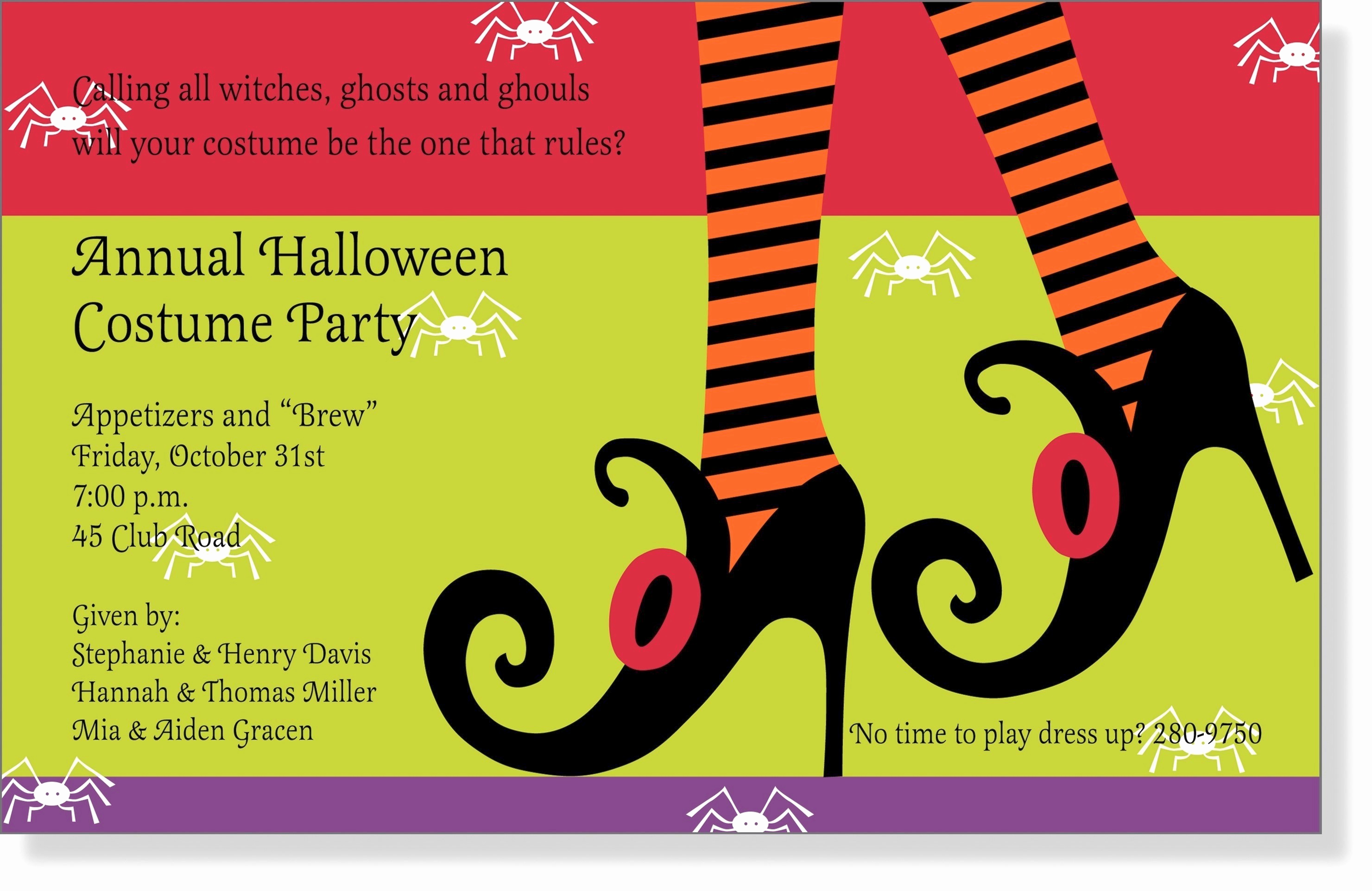 Office Potluck Invitation Wording Samples Luxury Halloween Fice Party Invitation – Festival Collections
