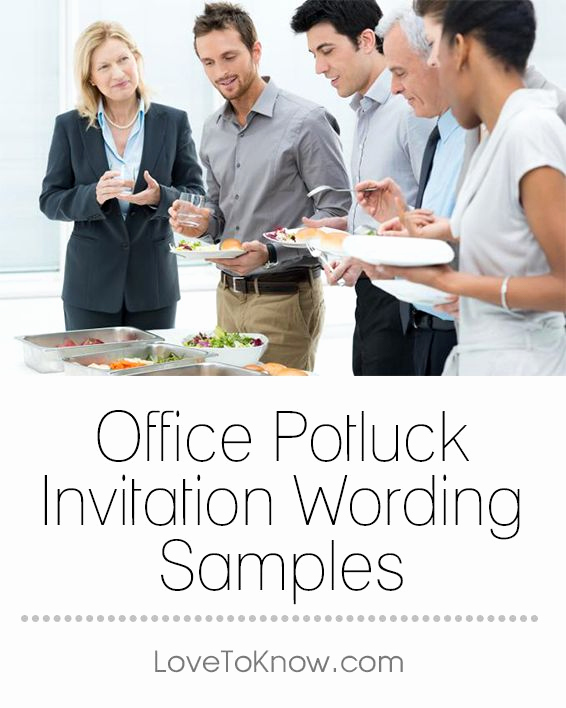 Office Potluck Invitation Wording Samples New Best 25 Potluck Invitation Ideas On Pinterest