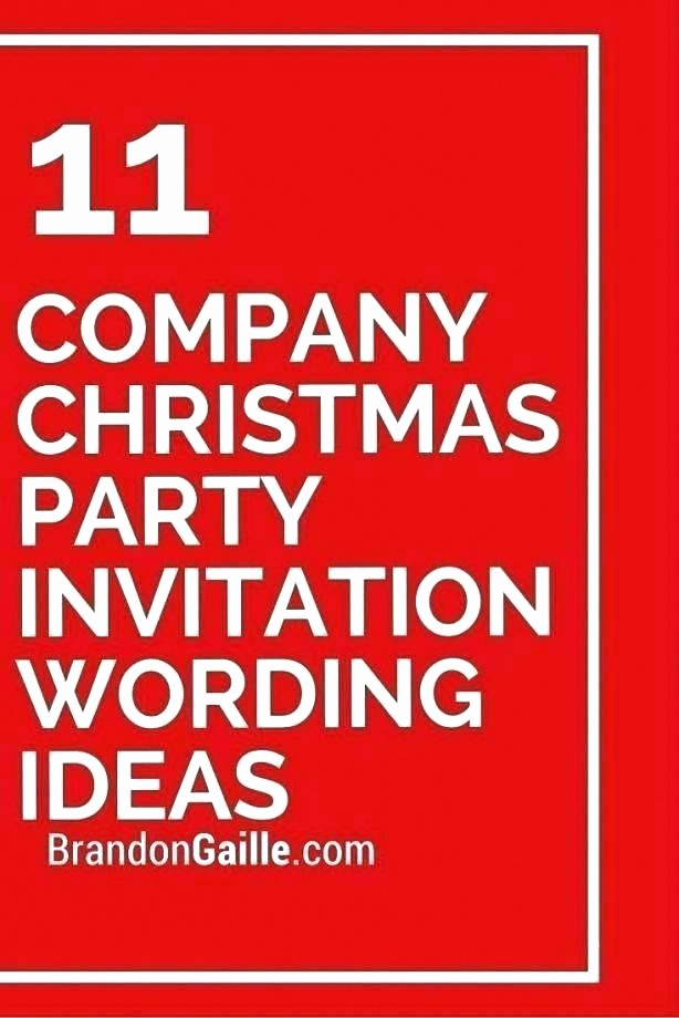 Office Potluck Invitation Wording Samples New Christmas Party Invitation Card Sample – Tinajoathome