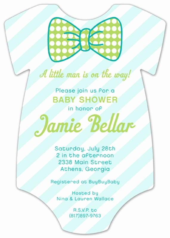 pattern cutie onesie baby shower