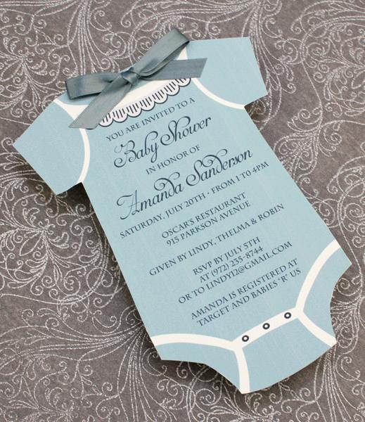 Onesie Baby Shower Invitation Template Unique Baby Shower Invitation Template Boys Sie – Download & Print
