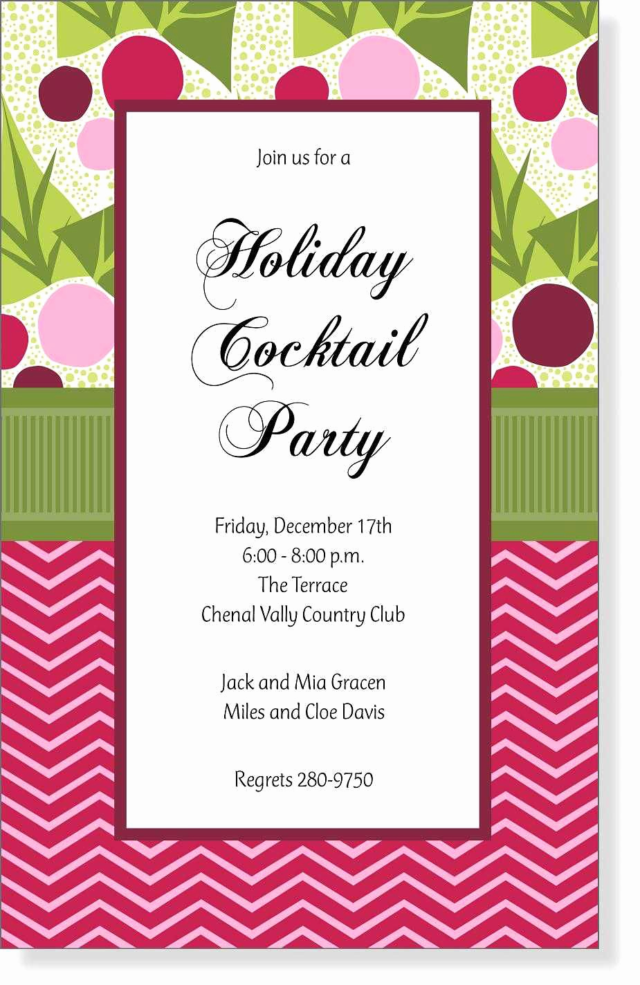 Open House Invitation Example Awesome Christmas Open House Invitation Wording