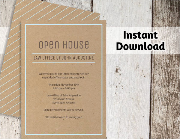 Open House Invitation Examples Awesome 33 Examples Of Invitation Design Psd Ai Vector Eps