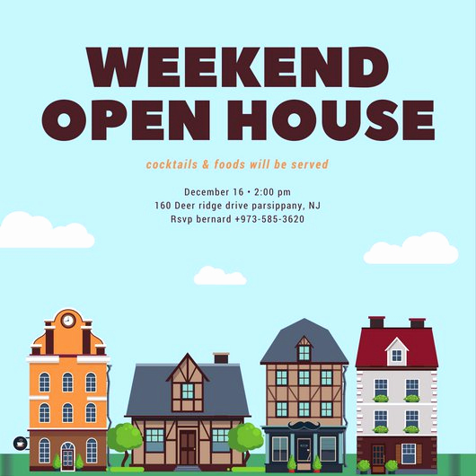 Open House Invitation Examples Best Of Customize 498 Open House Invitation Templates Online Canva