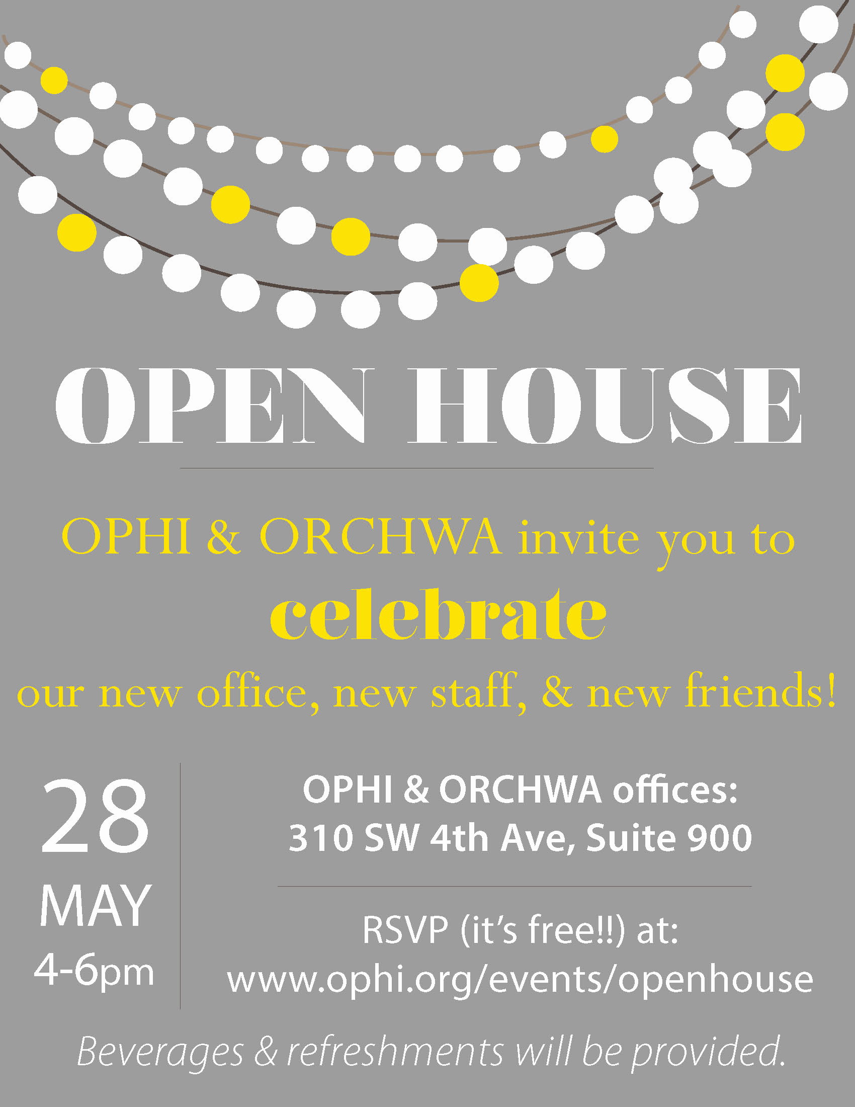 Open House Invitation Examples Inspirational Ophi Open House – Ophi