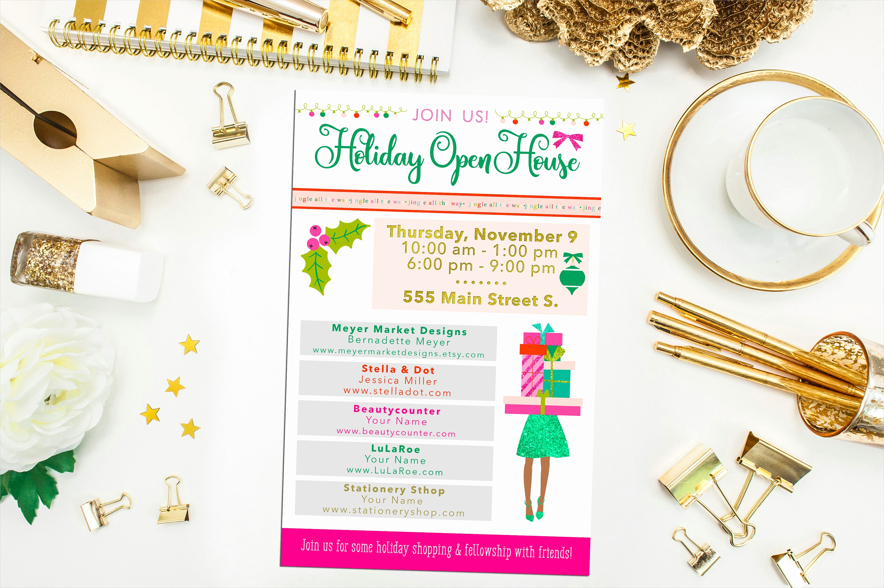Open House Invitation Examples Lovely 15 Open House Invitation Designs and Examples – Psd Ai