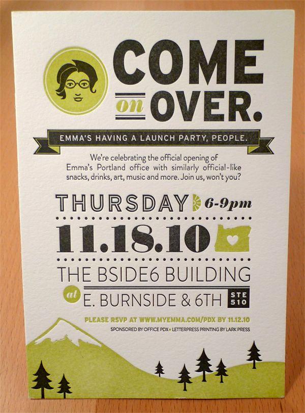 Open House Invitation Ideas Best Of Emma Inc Portland Open House by Allison Davis Via