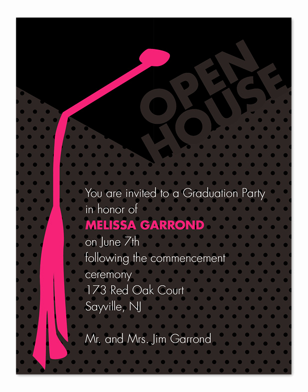 Open House Invitation Sample Inspirational Grad Open House Graduation Announcements by Invitation