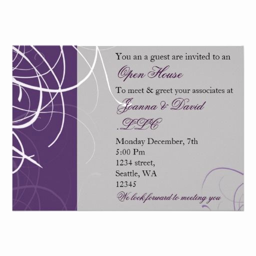 Open House Invitation Sample Lovely 21 Best Open House Invitation Wording Images On Pinterest