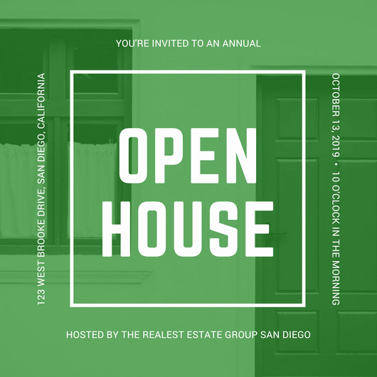 Open House Invitation Template Elegant Customize 498 Open House Invitation Templates Online Canva