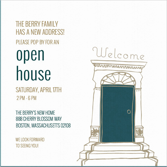 Open House Invitation Template Fresh 37 Invitation Templates Word Pdf Psd Publisher