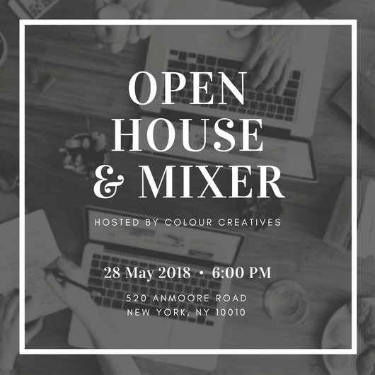 Open House Invitation Template Fresh Open House Invitation Templates Canva