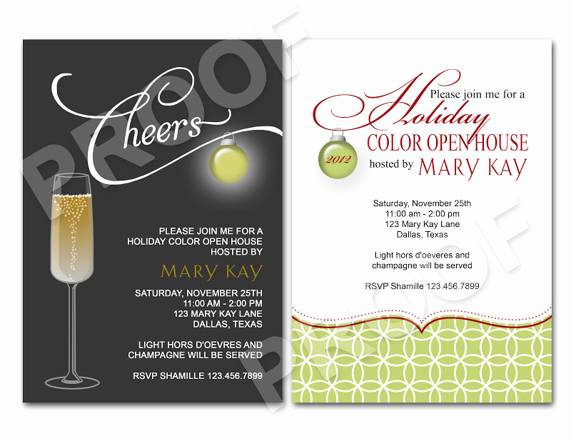 Open House Invitation Template Lovely Sample Christmas Program events