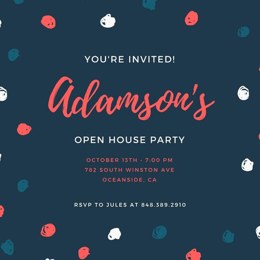 Open House Invitation Template Luxury Customize 498 Open House Invitation Templates Online Canva