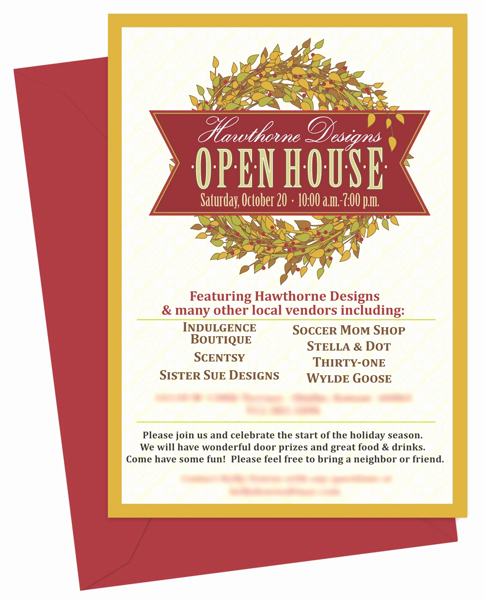 Open House Invitation Template Unique Open House Invitations Templates