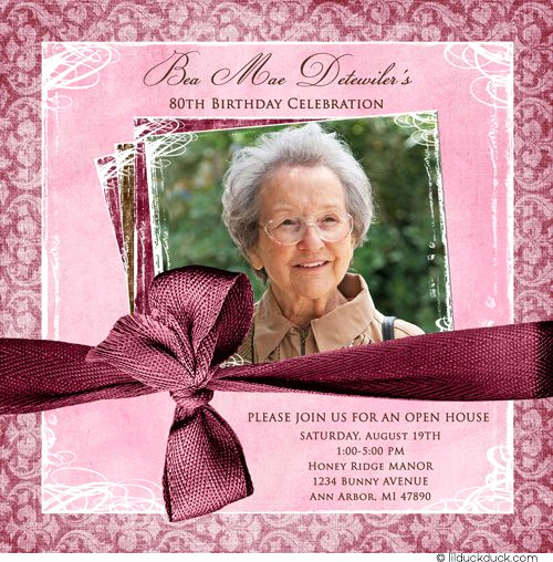 Open House Party Invitation Wording Fresh Feminine Birthday Invitation Woman S Party Honoree