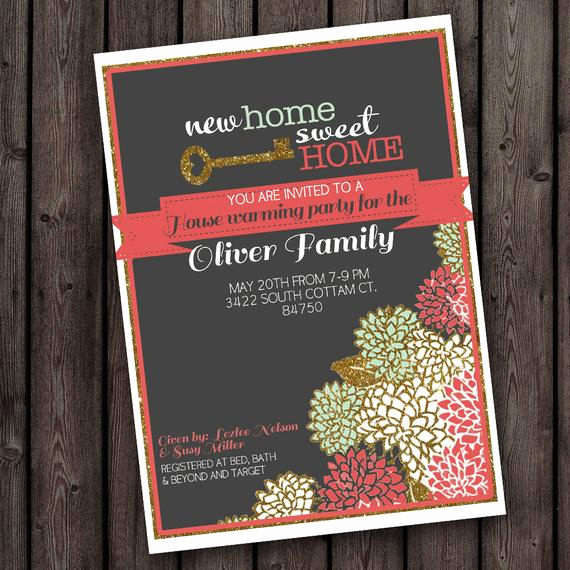Open House Party Invitation Wording Luxury Customized Wording Any Occasion Invitation New Home House