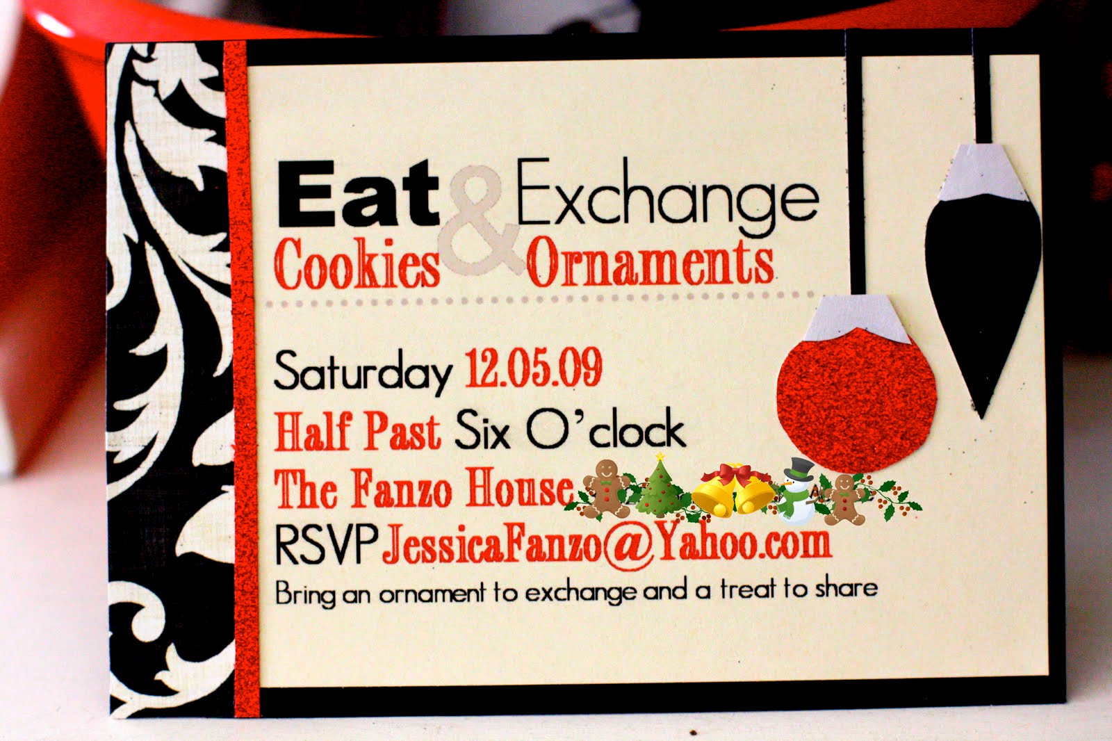 ornament exchangecookie party
