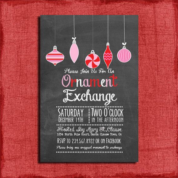 Ornament Exchange Invitation Wording Inspirational 516 Best Exceptional Christmas Cards Images On Pinterest
