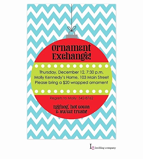 Ornament Exchange Invitation Wording Lovely 1000 Images About ornament Exchange Party Invitations On