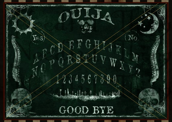 Ouija Board Invitation Template Beautiful Ouija Board Chalkboard Chalk Printable Vintage Steampunk Old