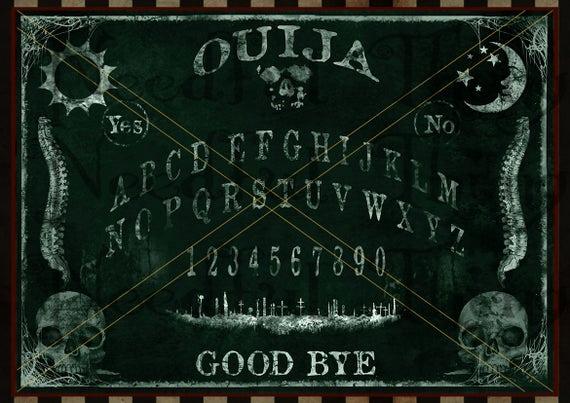 Ouija Board Invitation Template Beautiful Ouija Board Chalkboard Chalk Printable Vintage Steampunk Old