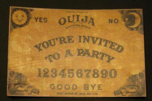 Ouija Board Invitation Template Beautiful Ouija Board Party Invitation