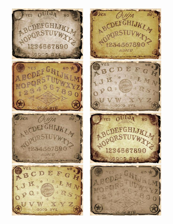 Ouija Board Invitation Template Elegant 17 Best Images About Spirit Board On Pinterest