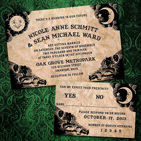 "Ouija Board Invitation Template Fresh 128 Best ""elegant"" Halloween Images On Pinterest"