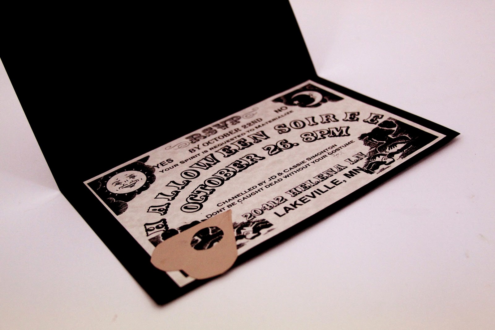 Ouija Board Invitation Template Fresh I Do A Dime Ouija Board Invitations