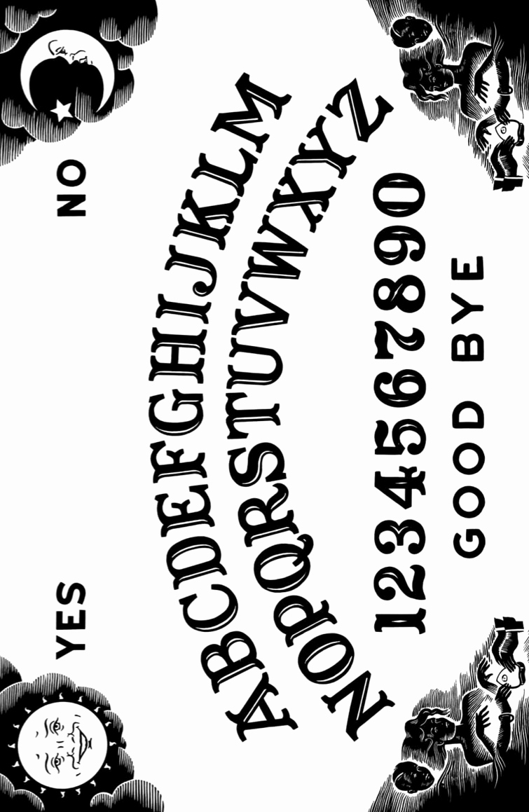 Ouija Board Invitation Template Fresh Ouija Board Printable