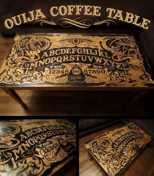Ouija Board Invitation Template Inspirational Dream Coffee Table Decorating On A Bud
