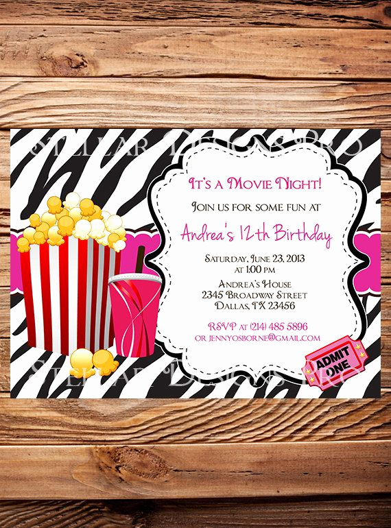 Outdoor Movie Night Invitation Elegant Best 20 Kids Movie Party Ideas On Pinterest