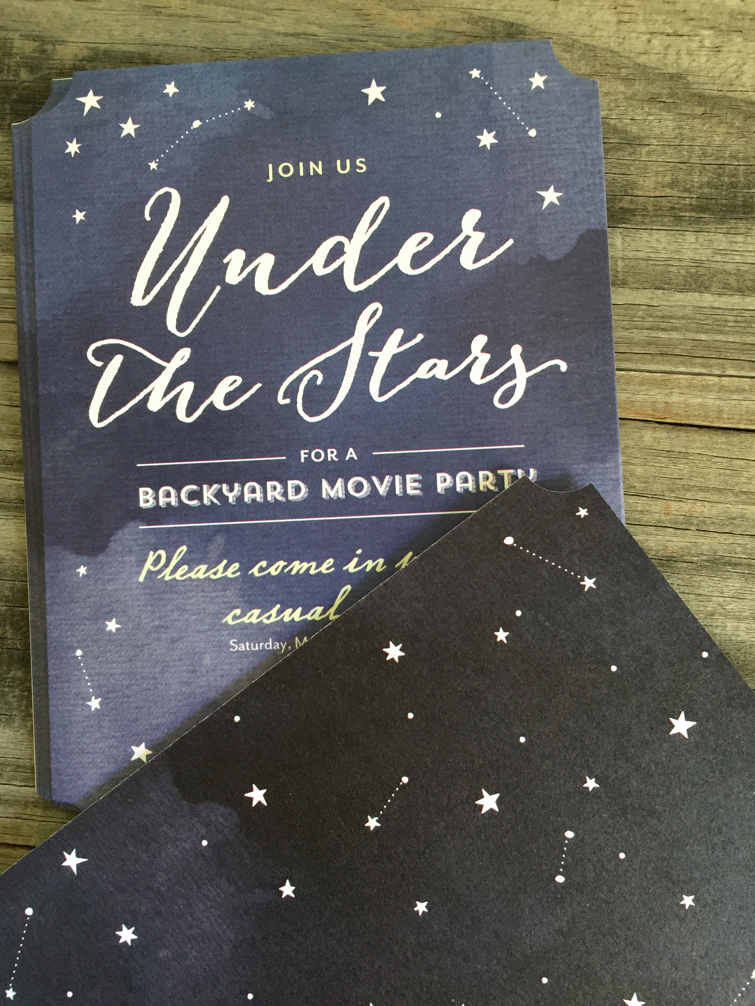 Outdoor Movie Night Invitation Elegant Outdoor Movie Night Everyday Party Magazine