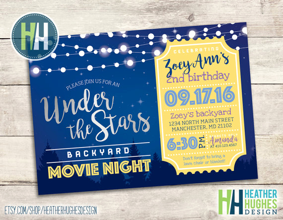 Outdoor Movie Night Invitation Inspirational How to Host An Epic Outdoor Movie Night Party This Summer