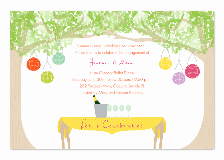 Outdoor Wedding Invitation Wording Best Of Backyard Party Invitation Wording