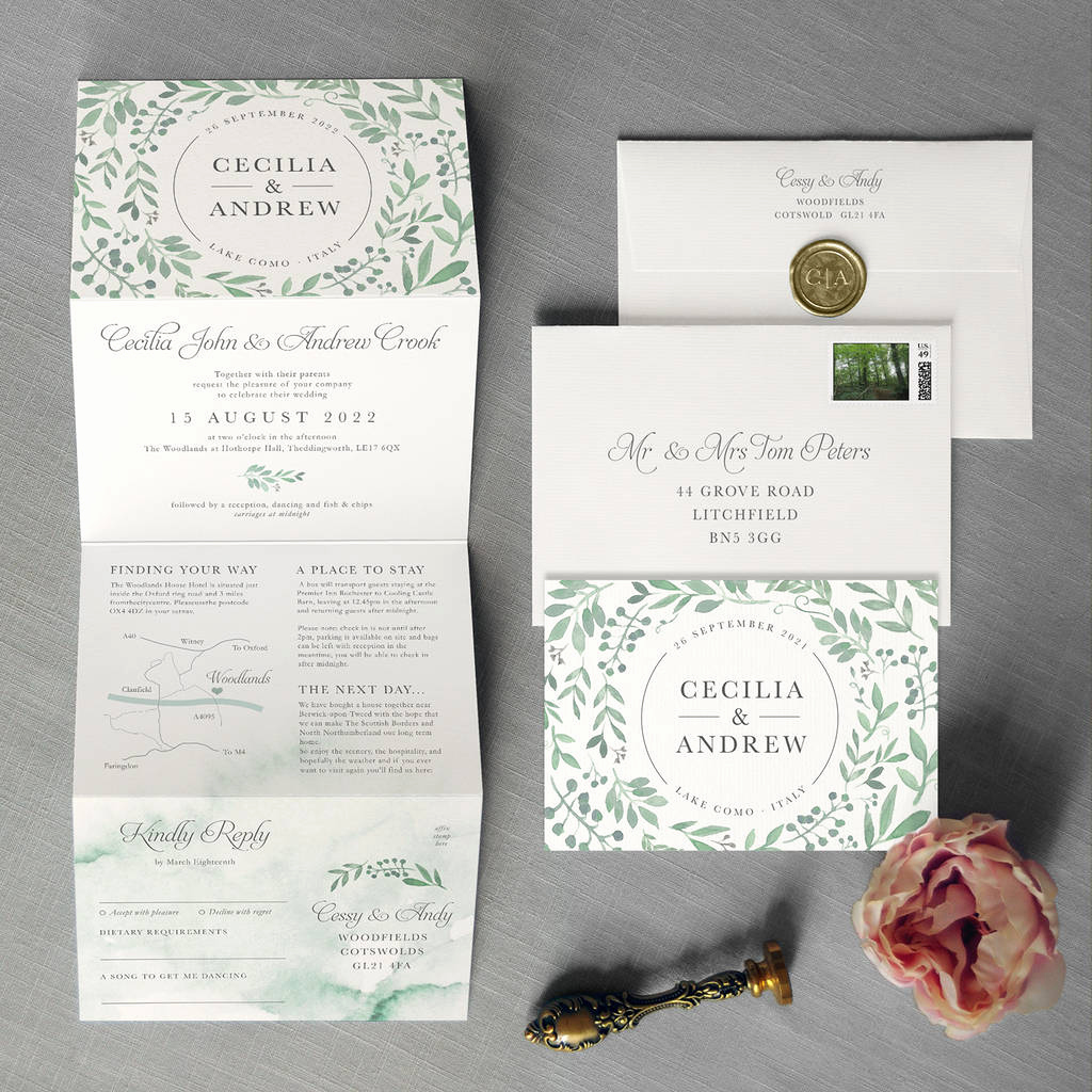 Outdoor Wedding Invitation Wording Lovely Secret Garden Wedding Invitation by Feel Good Wedding