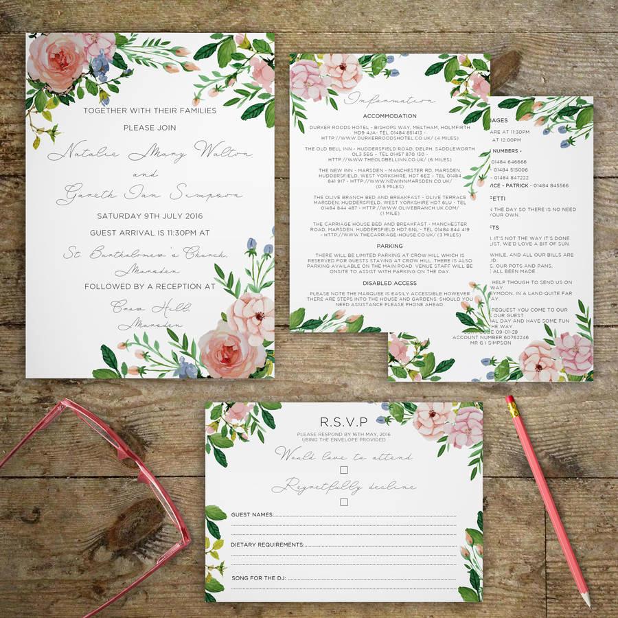 Outdoor Wedding Invitation Wording New Vintage Garden Wedding Invitations by Gray Starling
